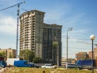 Щелково, улица Советская, дом 60. строящееся здание жилой дом