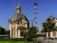 Щелково, улица Талсинская, дом 1 с.1. часовня во имя иконы Преподобного Серафима Саровского