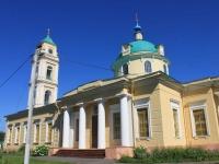 соседний дом: ул. Нагорная, дом 10. собор в честь св. Николая Чудотворца
