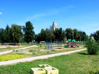 Losino-Petrovskiy, park  Nagornaya st, park