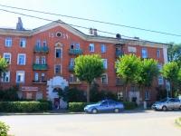 Лосино-Петровский, улица Октябрьская, дом 5. многоквартирный дом