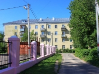 neighbour house: Ln. Oktyabrsky, house 1. Apartment house