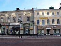 Нижний Новгород, улица Большая Покровская, дом 12. жилой дом с магазином