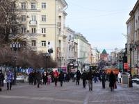 Нижний Новгород, улица Большая Покровская. Вид на улицу