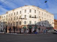 Нижний Новгород, улица Пискунова, дом 36. жилой дом с магазином