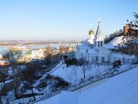 Nizhny Novgorod, temple ПРОРОКА БОЖЬЕГО ИЛИИ, Il'inskaya st, house 9