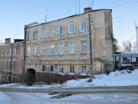 Нижний Новгород, улица Ильинская, дом 10. многоквартирный дом