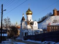 Nizhny Novgorod, temple иконы Казанской Божией МатериIl'inskaya st, temple иконы Казанской Божией Матери