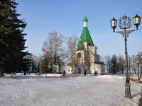 Nizhny Novgorod, cathedral МИХАИЛО-АРХАНГЕЛЬСКИЙ, Kreml st, house 2А