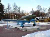 Нижний Новгород, памятник Истребитель ЛА-7улица Кремль, памятник Истребитель ЛА-7