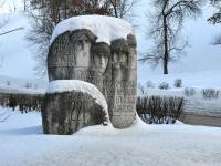 Нижний Новгород, памятник Ополчениюулица Кремль, памятник Ополчению