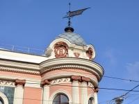 Нижний Новгород, памятник архитектуры Доходный дом купца Н.А. Бугрова, улица Рождественская, дом 27