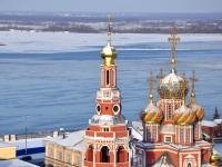 Nizhny Novgorod, cathedral ПРЕСВЯТОЙ БОГОРОДИЦЫ, Rozhdestvenskaya st, house 34А