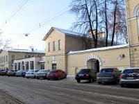Nizhny Novgorod, sample of architecture Усадьба Строгановых. Западный флигель с торговой лавкой, Rozhdestvenskaya st, house 45Б