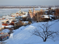 Нижний Новгород, Вид на улицуулица Рождественская, Вид на улицу