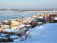 Нижний Новгород, улица Рождественская. Вид на улицу