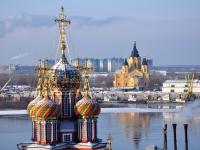 Нижний Новгород, собор АЛЕКСАНДРА НЕВСКОГО, улица Стрелка, дом 3А