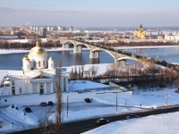 Nizhny Novgorod, cathedral АЛЕКСАНДРА НЕВСКОГО, Strelka st, house 3А