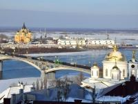 Нижний Новгород, улица Советская. мост Канавинский