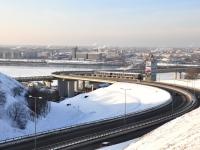 "Нижний Новгород, улица Советская. мост ""Метромост"""