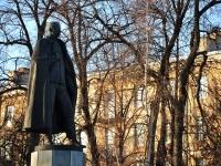 Nizhny Novgorod, monument П.Н. НестеровуVerhnevolzhskaya naberezhnaya st, monument П.Н. Нестерову