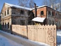 Nizhny Novgorod, Sergievskaya st, house 21. vacant building