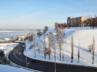 Нижний Новгород, улица Похвалинский съезд. Вид на улицу