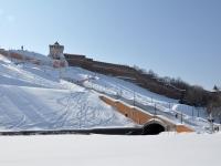 Nizhny Novgorod, memorial complex Чкаловская лестницаNizhnevolzhskaya naberezhnaya st, memorial complex Чкаловская лестница