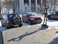Нижний Новгород, улица Нижневолжская набережная. скульптура Танцовщица