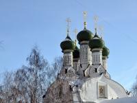 Nizhny Novgorod, temple В ЧЕСТЬ УСПЕНИЯ ПРЕСВЯТОЙ БОГОРОДИЦЫ, Krutoy alley, house 3