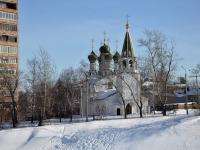 Нижний Новгород, Крутой переулок, дом 3. храм В ЧЕСТЬ УСПЕНИЯ ПРЕСВЯТОЙ БОГОРОДИЦЫ