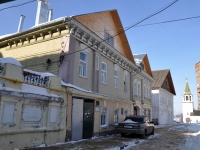 Nizhny Novgorod, Krutoy alley, house 9. Apartment house