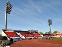 Нижний Новгород, Балаклавский переулок, дом 1. стадион ЛОКОМОТИВ