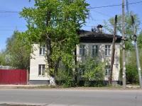 Нижний Новгород, улица Октябрьской Революции, дом 19. многоквартирный дом