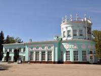 Nizhny Novgorod, office building ДЖД, Детская железная дорога, Oktyabrskoy Revolyutsii st, house 23А