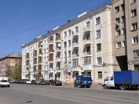 Нижний Новгород, улица Октябрьской Революции, дом 72. многоквартирный дом