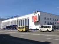 Нижний Новгород, площадь Революции, дом 2А. вокзал НИЖНИЙ НОВГОРОД-МОСКОВСКИЙ, железнодорожный вокзал