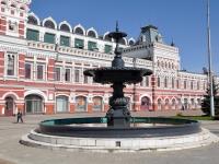 Нижний Новгород, улица Совнаркомовская. фонтан на Нижегородской Ярмарке