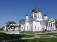 Nizhny Novgorod, cathedral В ЧЕСТЬ НЕРУКОТВОРНОГО ОБРАЗА СПАСИТЕЛЯ, Yarmarochny Ln, house 10 к.1