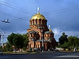 Religious building of Novosibirsk