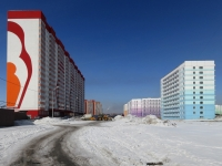 Новосибирск, улица Дмитрия Шмонина, дом 10. многоквартирный дом