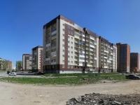 Новосибирск, улица Мясниковой, дом 8. многоквартирный дом
