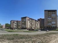 Новосибирск, улица Мясниковой, дом 8/1. многоквартирный дом