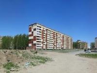 Новосибирск, улица Мясниковой, дом 10. многоквартирный дом