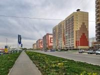 Новосибирск, улица Мясниковой, дом 20. многоквартирный дом