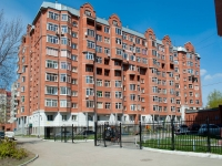 Novosibirsk, 1st Rimsky-Korsakov alley, house 3 с.1. Apartment house