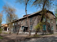 Novosibirsk, st Seraphimovich, house 8. Apartment house