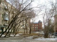 Novosibirsk, alley 1st Seraphimovich, house 2. Apartment house