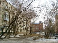 Новосибирск, переулок Серафимовича 1-й, дом 2. многоквартирный дом