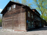 Novosibirsk, 1st Seraphimovich alley, house 7. Apartment house